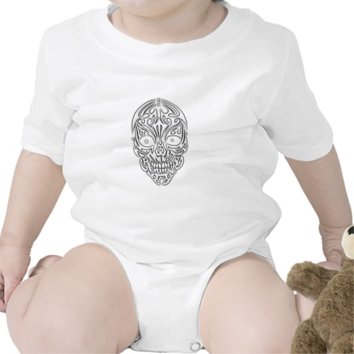 Tribal Skull Infant Creeper