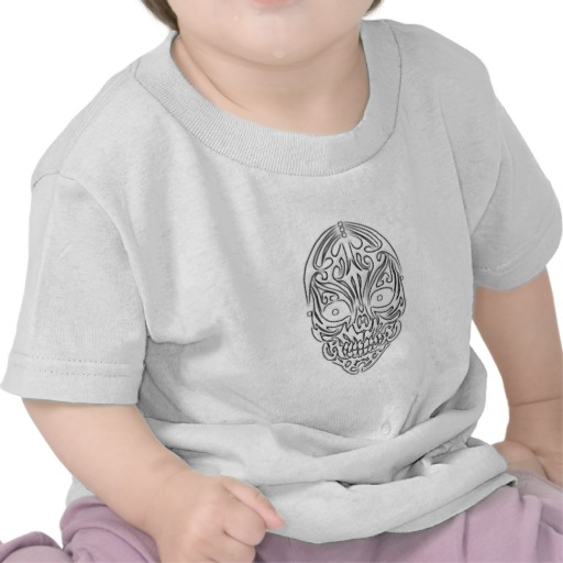 Tribal Skull Infant T-Shirt
