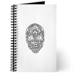 Tribal Skull Journal
