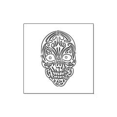 Tribal Skull Large Posters