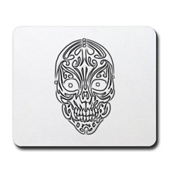 Tribal Skull Mousepad