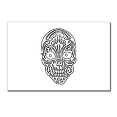 Tribal Skull Postcards (Package of 8)