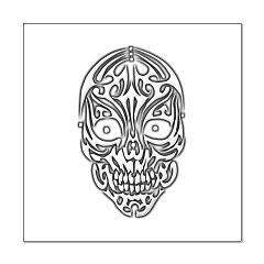 Tribal Skull Posters