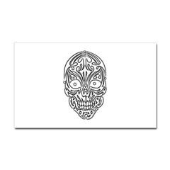 Tribal Skull Rectangle Decal