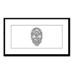 Tribal Skull Small Framed Print