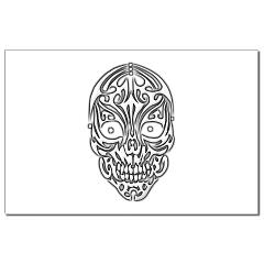 Tribal Skull Small Posters