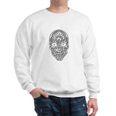 Tribal Skull Sweatshirt