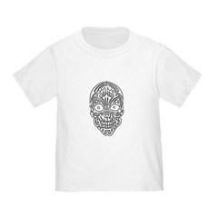 Tribal Skull Toddler T-Shirt