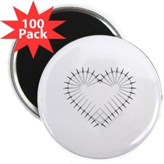 "Heart of Daggers 2.25"" Magnet (100 pack)"