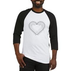 Heart of Daggers Baseball Jersey T-Shirt