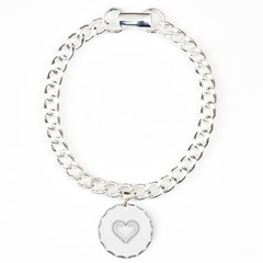 Heart of Daggers Bracelet with Round Charm