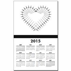 Heart of Daggers Calendar Print