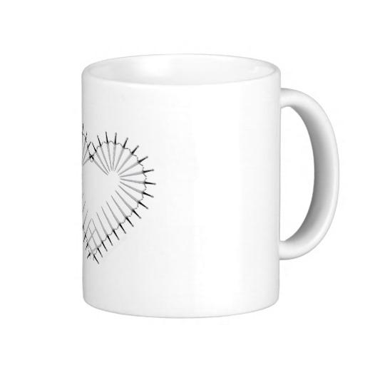 Heart of Daggers Classic White Mug
