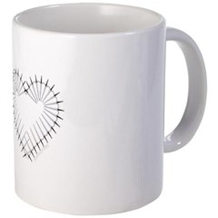 Heart of Daggers Coffee Mug