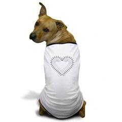 Heart of Daggers Dog T-Shirt