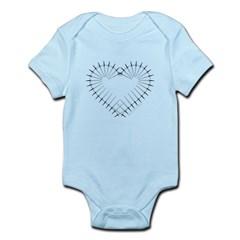 Heart of Daggers Infant Bodysuit