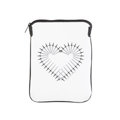 Heart of Daggers iPad Sleeve