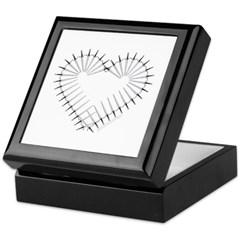 Heart of Daggers Keepsake Box