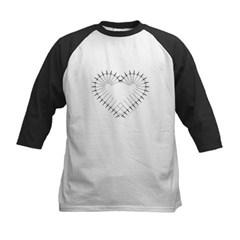 Heart of Daggers Kids Baseball Jersey T-Shirt