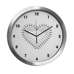 Heart of Daggers Modern Wall Clock