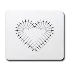 Heart of Daggers Mousepad