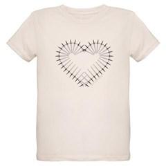 Heart of Daggers Organic Kids T-Shirt
