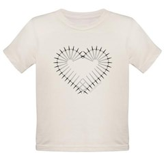 Heart of Daggers Organic Toddler T-Shirt