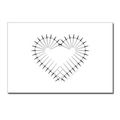 Heart of Daggers Postcards (Package of 8)