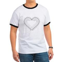 Heart of Daggers Ringer T-Shirt