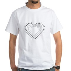 Heart of Daggers White T-Shirt