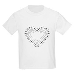 Heart of Daggers Youth T-Shirt by Hanes