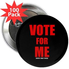 """Vote for Me 2.25"""" Button (100 pack)"""