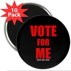 "Vote for Me 2.25"" Magnet (10 pack)"