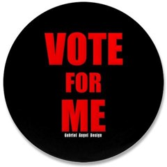 "Vote for Me 3.5"" Button"