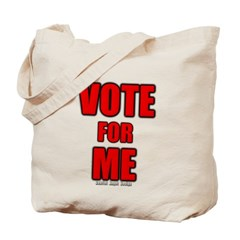 Vote for Me Canvas Tote Bag
