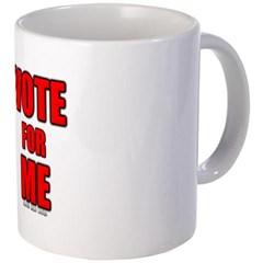 Vote for Me Coffee Mug