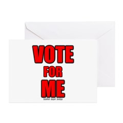 Vote for Me Greeting Cards (Pk of 20)