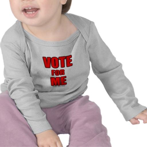 Vote for Me Infant Bella Long Sleeve T-Shirt
