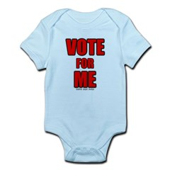 Vote for Me Infant Bodysuit