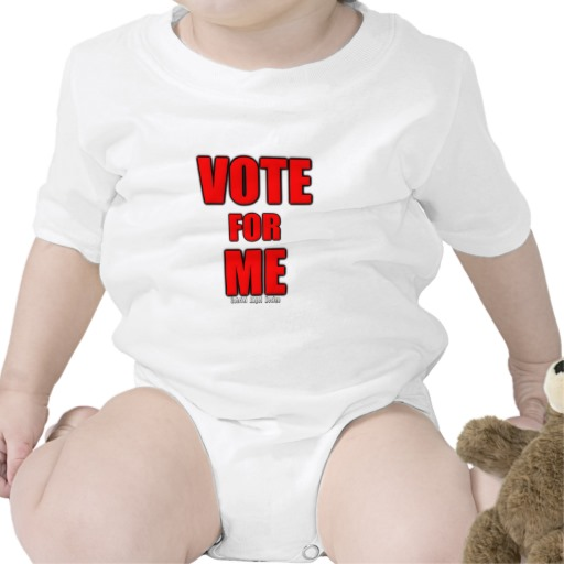 Vote for Me Infant Creeper