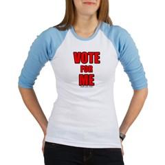 Vote for Me Junior Raglan T-shirt