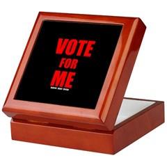 Vote for Me Keepsake Box
