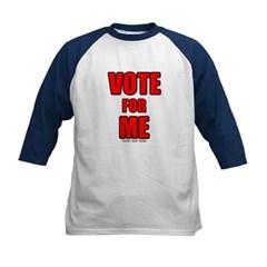 Vote for Me Kids Baseball Jersey T-Shirt
