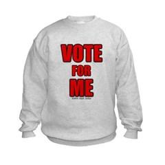 Vote for Me Kids Crewneck Sweatshirt by Hanes