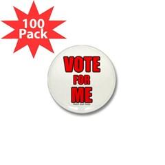 Vote for Me Mini Button (100 pack)