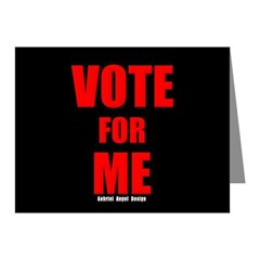 Vote for Me Note Cards (Pk of 20)