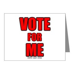 Vote for Me Note Cards (Pk of 10)