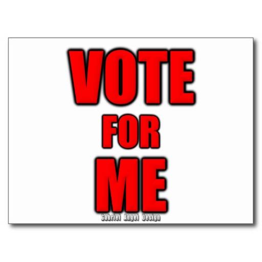 Vote for Me Postcard