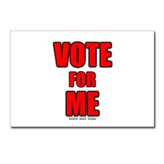 Vote for Me Postcards (Package of 8)