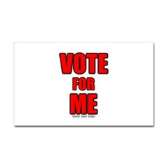 Vote for Me Rectangle Decal